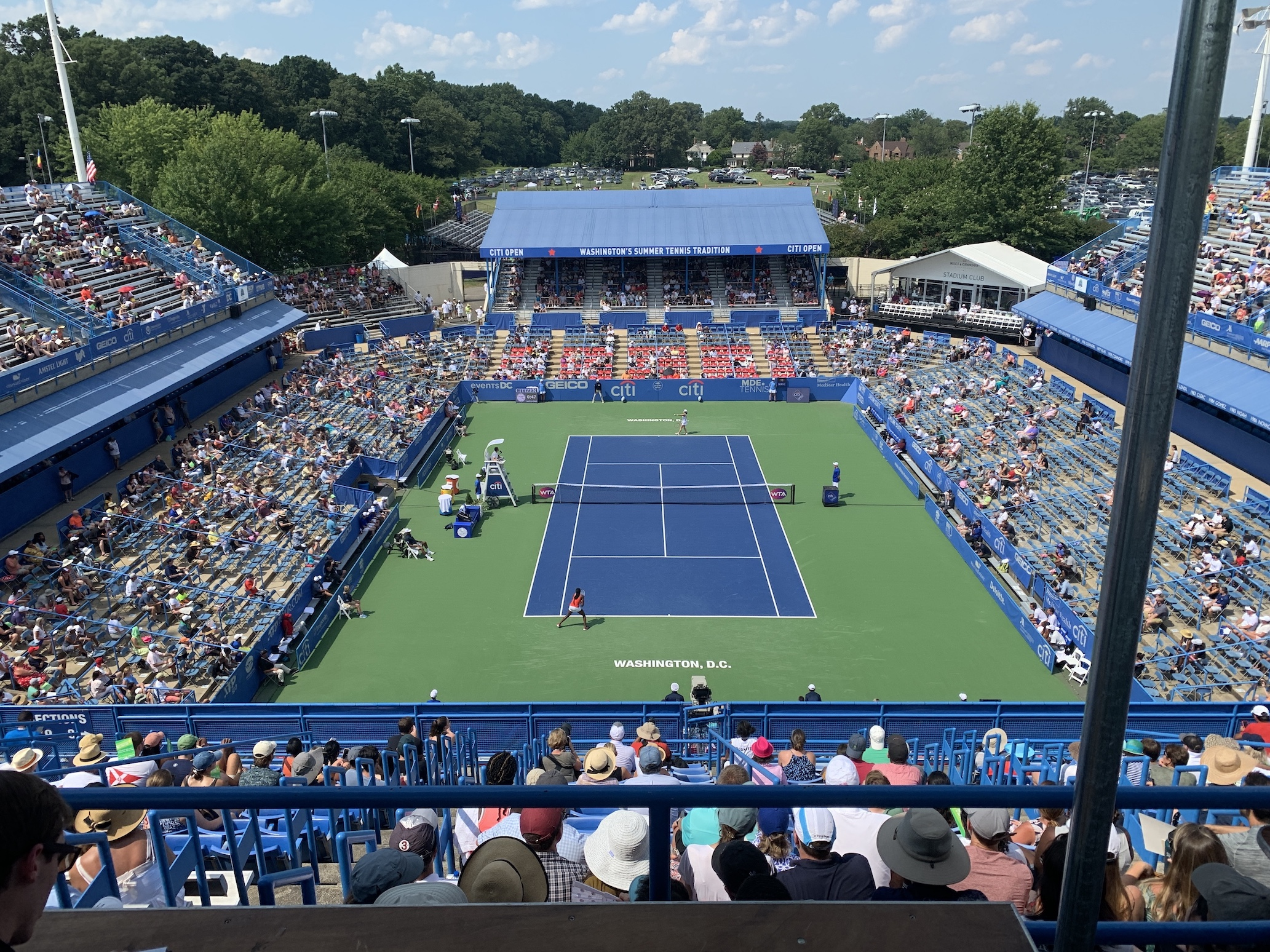 Rising Star Teen Journalist Reflects on Citi Open Experience